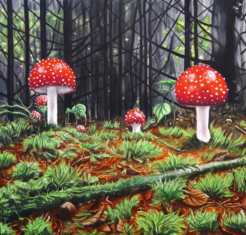 Peintures lesamanites peinture a l huile de 14016733 lesamanites efafaf0 31aa9 big